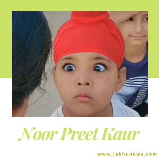 It is a picture of Noor Preet Kaur