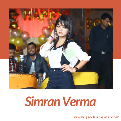 It is a picture of Simran Verma