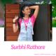 It is picture of Surbhi Rathore