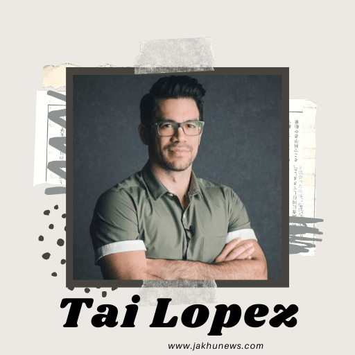 It is a picture of Tai Lopez