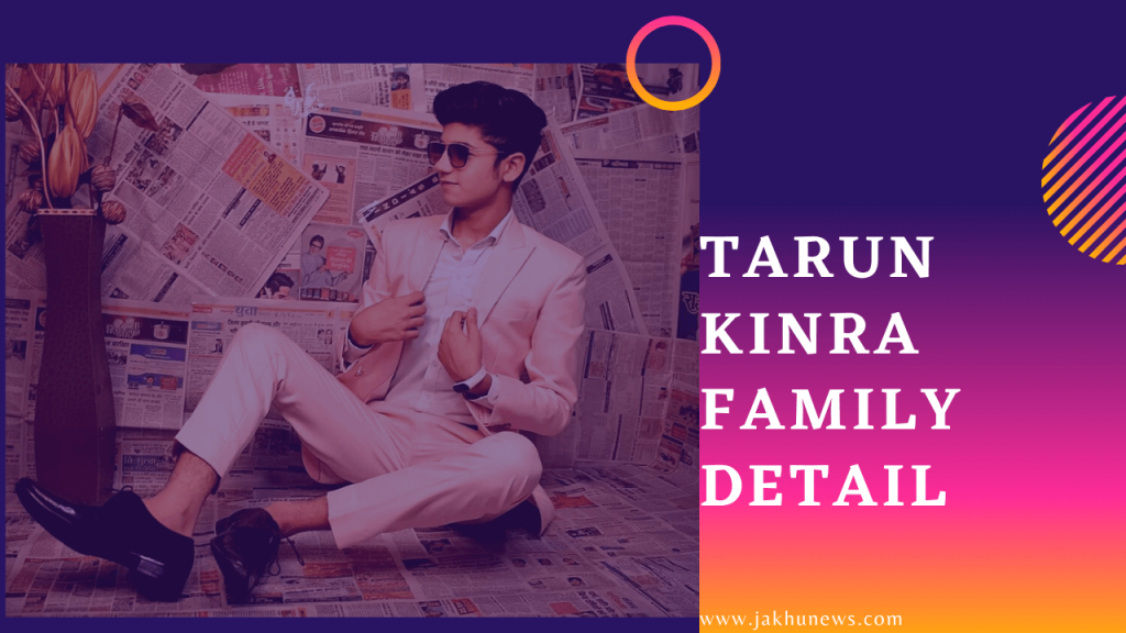Tarun Kinra Family Detail