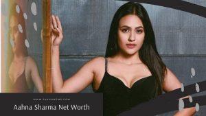 Aahna Sharma Net Worth