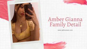 Amber Gianna Family