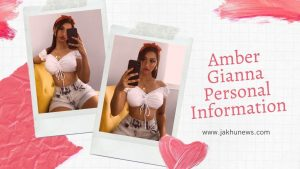 Amber Gianna Personal Information