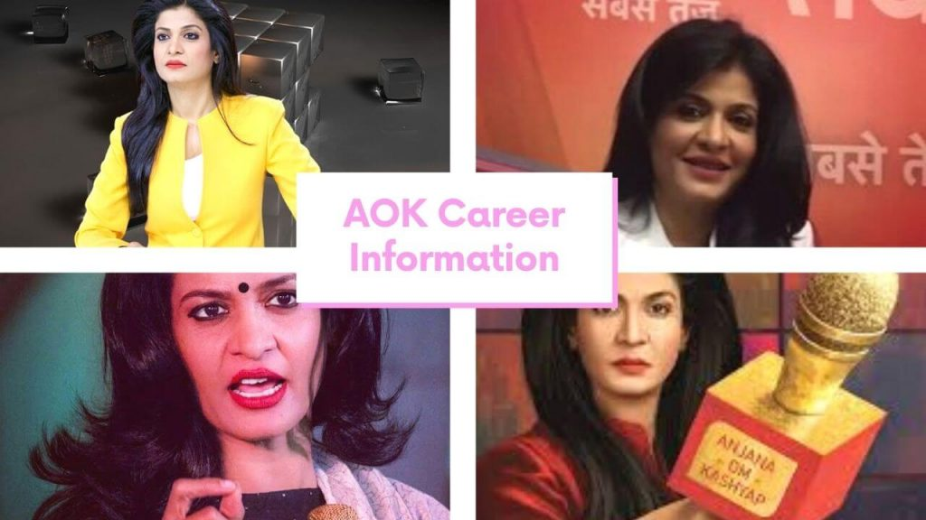 Anjana Om Kashyap Career Information