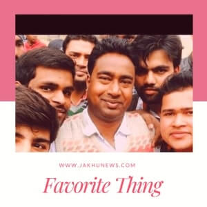 Dharmendra Kumar Favorite Things