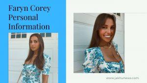 Faryn Corey Personal Information