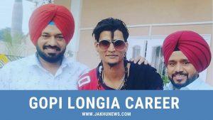 Gopi Longiqa Career Information