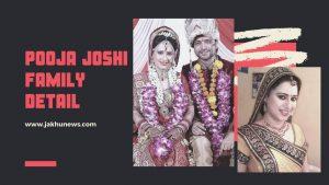 Pooja Joshi Family