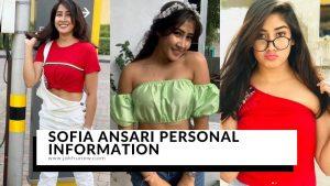 Sofia Ansari Personal Information