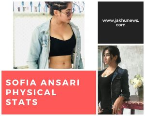 Sofia Ansari Physical Stats