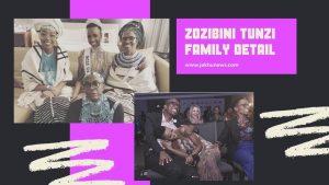 Zozibini Tunzi Family