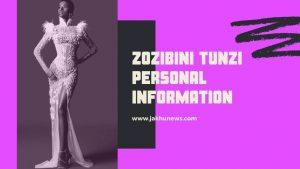 Zozibini Tunzi Personal Information