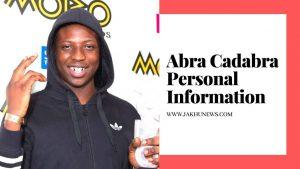 Abra Cadabra Personal Information