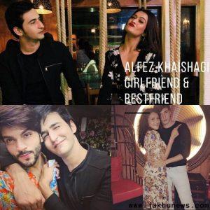 Alfez Khaishagi Girlfriend & Bestfriend