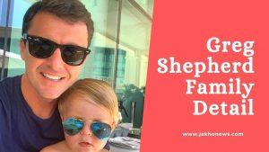 Greg Shepherd Family