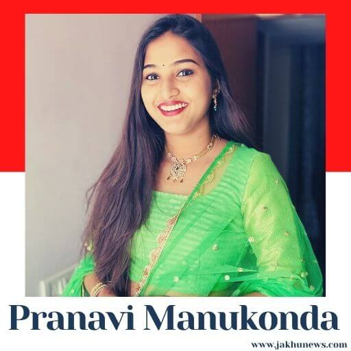 Pranavi Manukonda