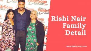 Rishi Nair Family