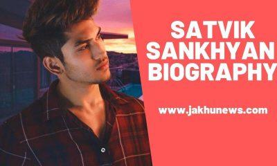 Satvik Sankhyan Biography