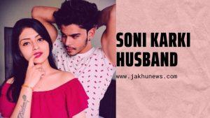 Soni Karki with her husband