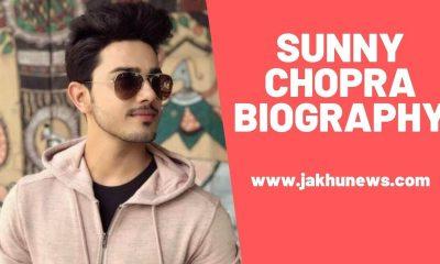 Sunny Chopra Biography