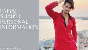 Faisal Shaikh Personal Information