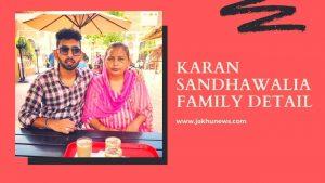 Karan Sandhawalia Family